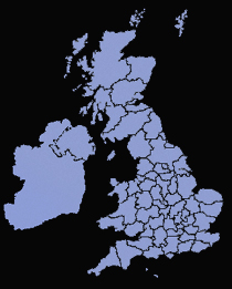 UK Areas Covered
